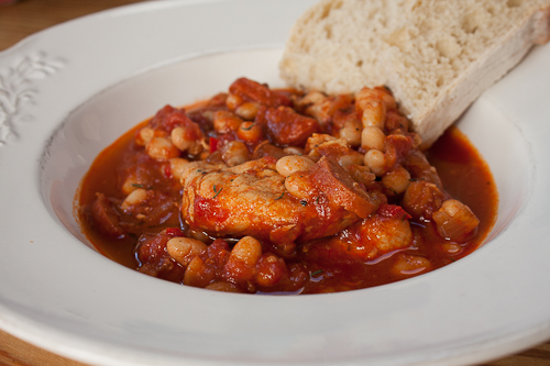 Chicken, Chorizo & Bean Stew-5023